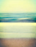 Textured Vintage Seascape Stock Photography