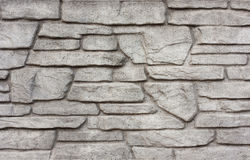 Textured wall background gray stone Royalty Free Stock Photography