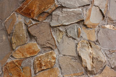 Textured wall background of  stone Stock Image