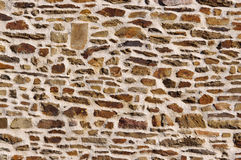Textured wall of stone Stock Images