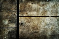 Dark wooden texture grunge rough style Stock Images
