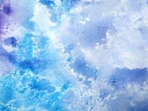Textured watercolor background stock illustration