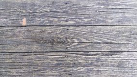 Wooden Planks of a Weathered Bridge. The textured weather worn planks of a wooden foot bridge Stock Photography