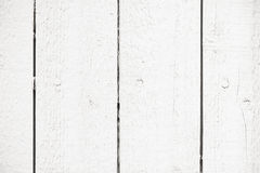 Textured white wooden wall Royalty Free Stock Photo