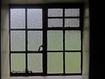 TEXTURED WINDOW PANES Stock Photos