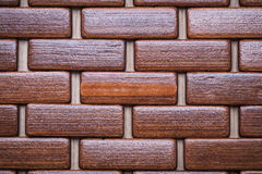 Textured wood place matting top view image backgrounds concept Stock Images