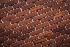 Textured wooden backcloth diagonal view backgrounds concept Stock Images