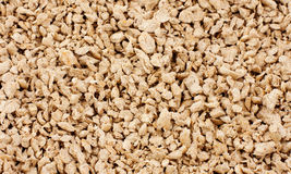 Textured wooden cat litter Stock Images