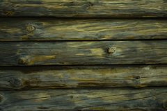 Textured wooden horizontal background with copy space. Horizontal decks. Place for text royalty free stock photo