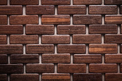 Textured wooden matting close up view backgrounds concept Royalty Free Stock Photo