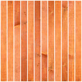 Textured wooden planks on white Royalty Free Stock Image