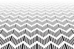 Textured zigzag surface. Abstract geometric background. Royalty Free Stock Photos