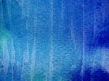 Texturen 2 van de Waterverf van Aqua Blauwe Royalty-vrije Stock Foto