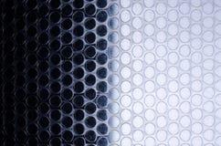 Texturen av bubblorna polyetylenen royaltyfri foto