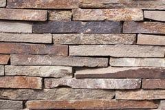 Texturen av den gråa stenhuggeriarbetet Royaltyfria Bilder