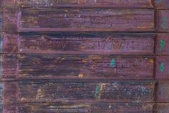 Texturen av det gamla trät Royaltyfri Bild