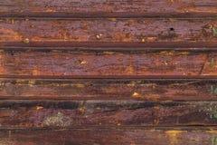 Texturen av det gamla trät Arkivfoton