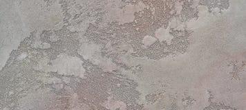 Texturen av grå vind-betong är en dekorativ beläggning för väggar Arkivfoto