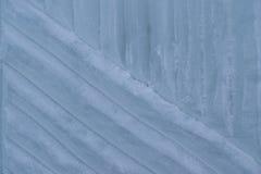 Texturen av isen med utskrivavna modeller Royaltyfri Fotografi