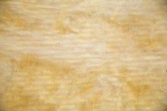 Texturen av mineralisk ull för att isolera väggarna royaltyfri bild