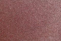 Texturen av sandpapper Arkivbilder
