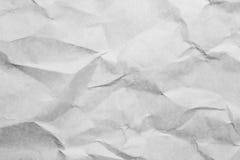 Texturen av skrynkligt papper för bakgrunden royaltyfria foton