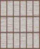 Texturen av trätaket med strålar Top beskådar visualization 3d Arkivfoto