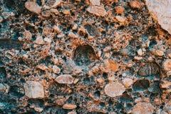 Texturen en abstracte vormen van steen stock foto's