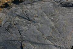 Texturen en vormen in rotsen Royalty-vrije Stock Fotografie