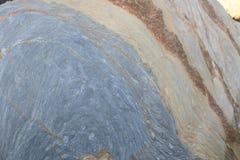 Texturen en vormen in rotsen Royalty-vrije Stock Afbeeldingen