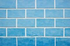 Texturen op de blauwe muur, stock afbeelding