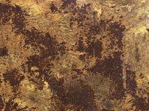 Texturen op metaal Royalty-vrije Stock Afbeelding