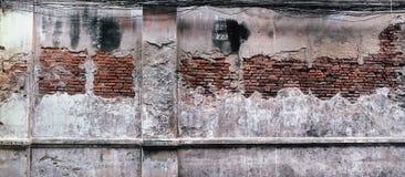 Texturen på den gamla väggen Fotografering för Bildbyråer