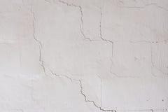Texturen på den vita väggen Royaltyfria Foton