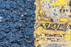 Texturenweg Stock Foto's