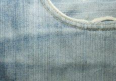 Texturer av jeans Royaltyfria Bilder
