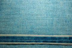 Texturer av jeans Royaltyfria Foton