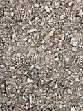 Texturer för grus för arbetskonstruktionsplats Royaltyfri Fotografi