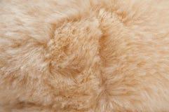 Texturer för konstgjord päls Arkivbild