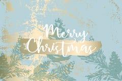 Texturer för vinter för vektor för julgrankottemålning royaltyfri bild