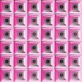 Texturer och bakgrunder för abstrakt dekorativ rosa bakgrund härliga Fotografering för Bildbyråer