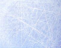 Texturer slösar is Isisbana vinter för blåa snowflakes för bakgrund vit Över huvudet sikt Bakgrund för vektorillustrationnatur Royaltyfri Foto