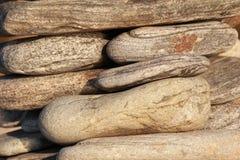 Texturera av den naturliga stenen Royaltyfri Foto