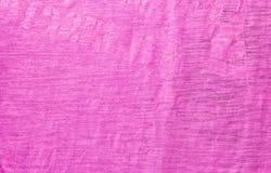 Texturera av den purpurfärgade torkduken Fotografering för Bildbyråer