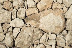Texturera av en stenvägg Royaltyfri Fotografi