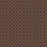 Texturera av färgrik rhombus på en brun bakgrund royaltyfri illustrationer