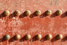 Texturera av gammal dörr arkivfoto