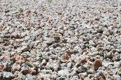 Texturera av lilla stenar Arkivbild