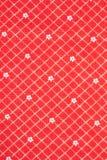 Texturera av rött silkespapper i cellen som scrapbooking Royaltyfria Bilder