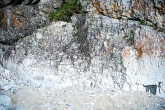 Texturera av stenarna Royaltyfri Foto